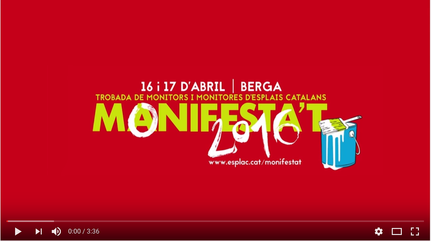 Som #MonisImparables | Resum Monifesta't 2016
