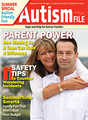 Autism File Magazine cover