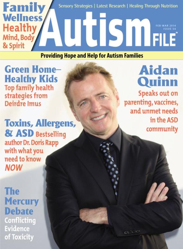Autism File Magazine cover