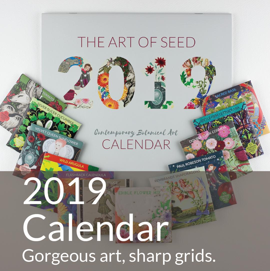 2019 Art of Seed Calendar