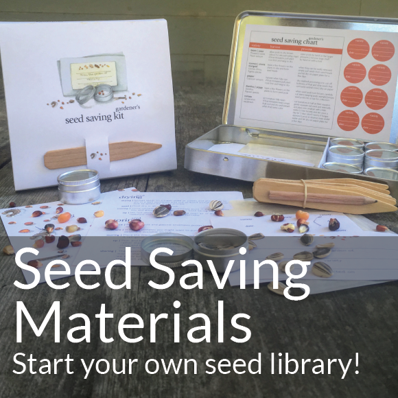 Seed-Saving Supplies