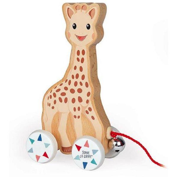 Sophie La Giraffe Pull Along