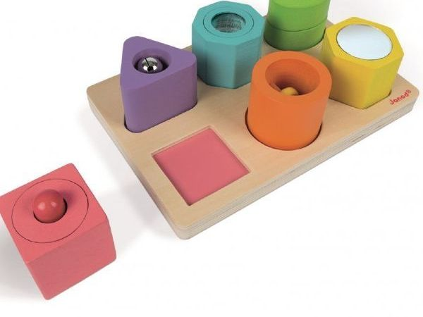 Shapes & Sound Blocks Puzzle