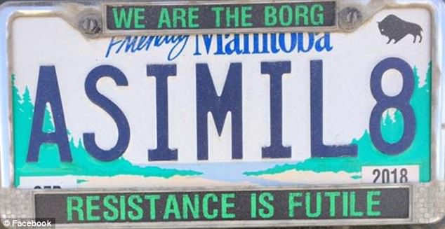 Resistance Not Futile: Star Trek Fan sues Manitoba Public Insurance for return of ASIMIL8 licence plate