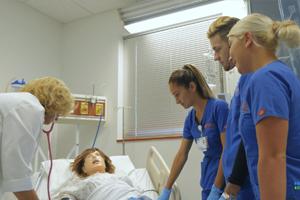 Donation Creates College Nursing Position