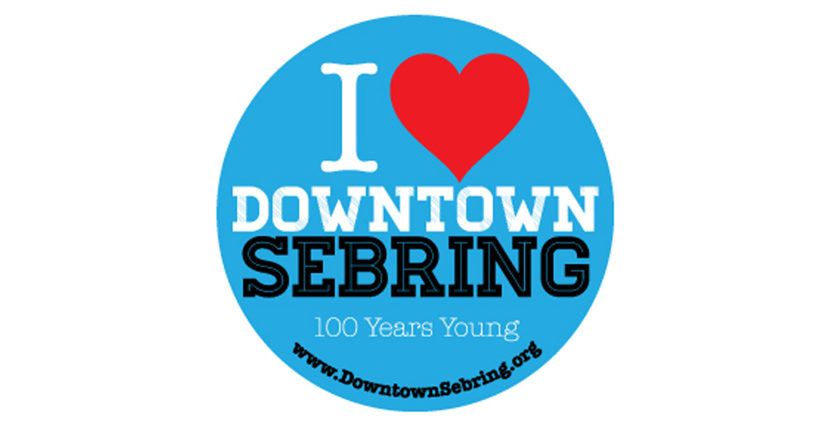 Picture of I love downtown Sebring logo