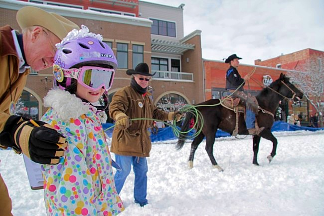 The Steamboat Springs Colorado Winter Carnival: Named one of the Top Ten Winter Carnivals in the World by National Geographic
