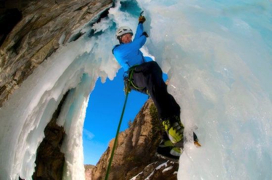 Climb On at Ouray Colorado's Annual Ice Festival