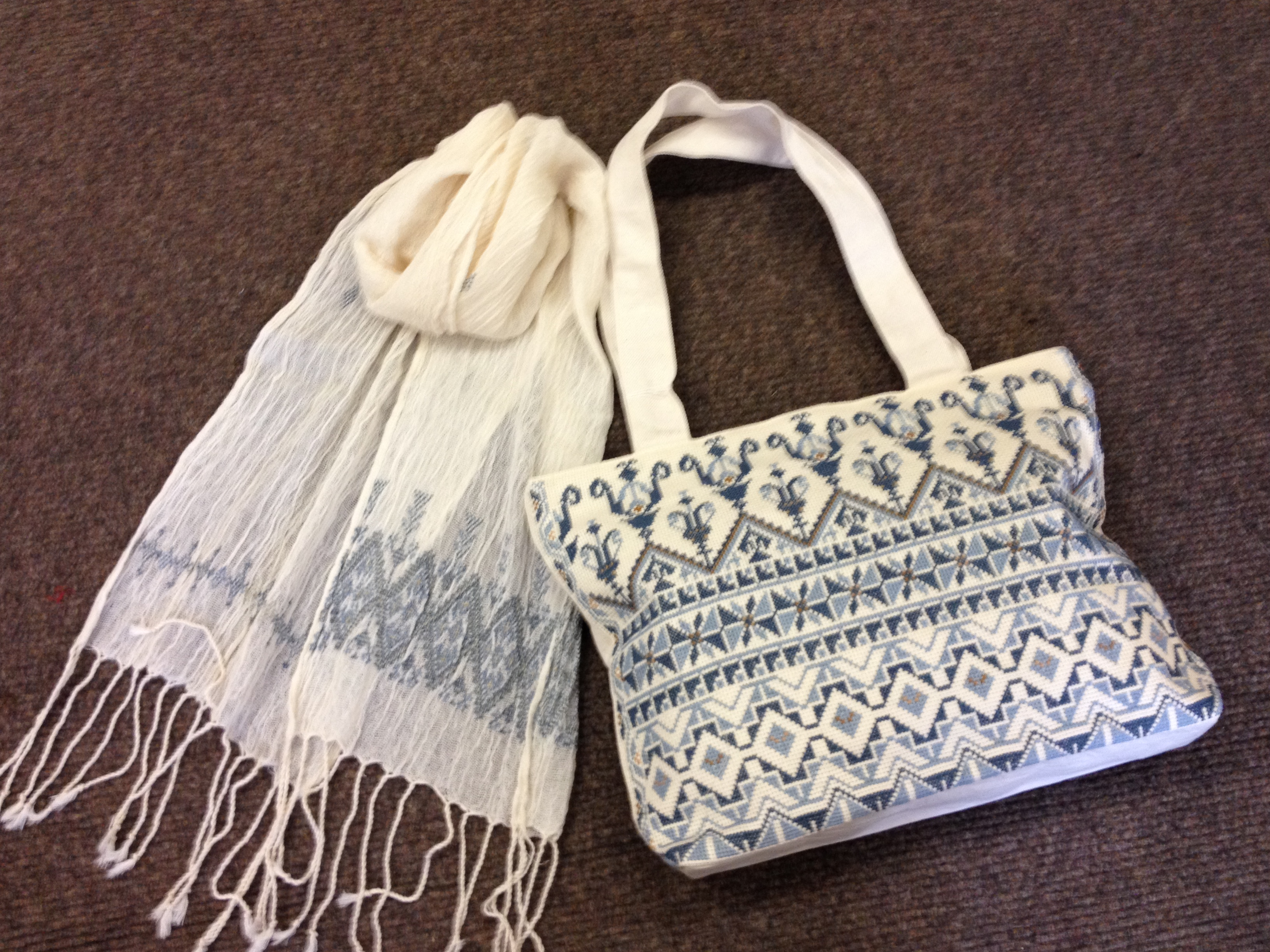 Summer Bag and scarf
