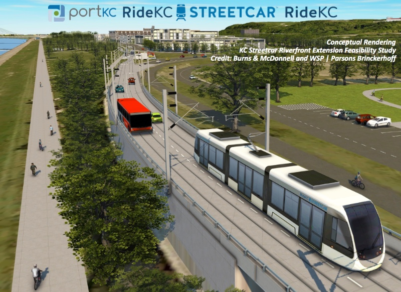 River streetcar extension