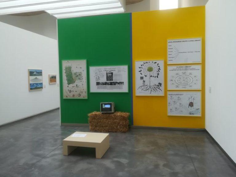 Bonnie Ora's installation at CDAN, Huesca, Spain