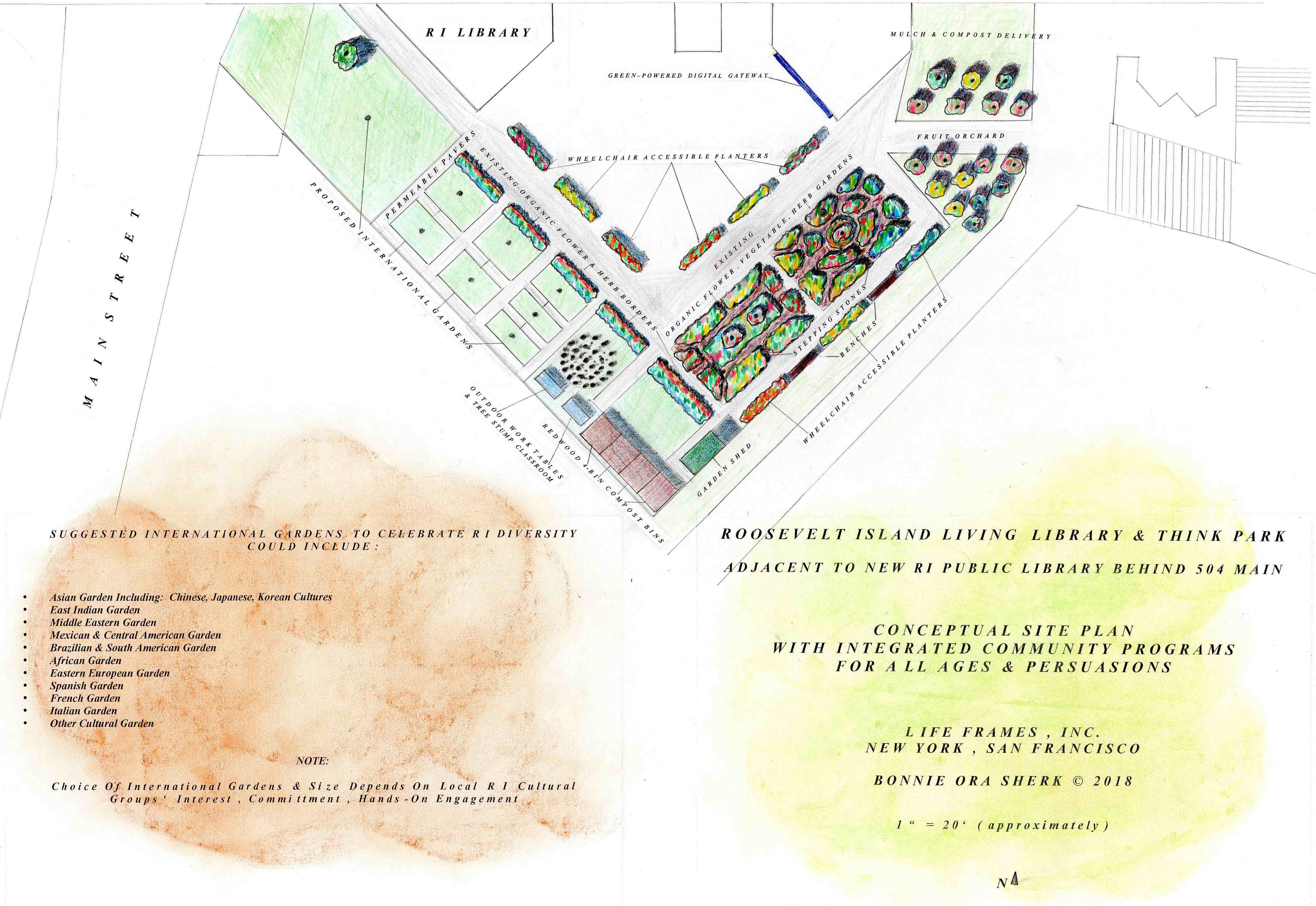 New Master Plan for RI Living Library & Think Park