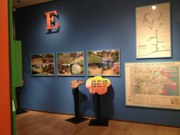 Bonnie Ora's installation at Nevada Museum of Art