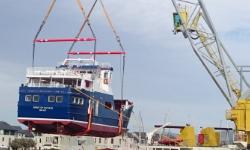 Rathlin ferry launch story link