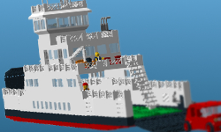 CalMac ferry Lego build vote story link