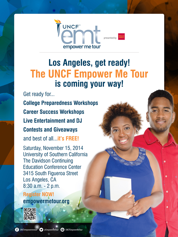 NOV 15 :: UNCF Empower Me Tour comes to Los Angeles