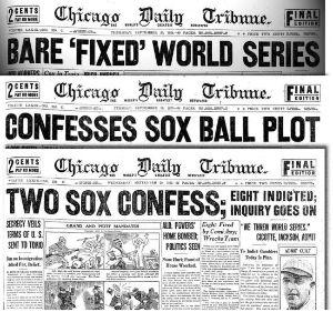 "Baseball ""Cheating"" Scandal Headlines"
