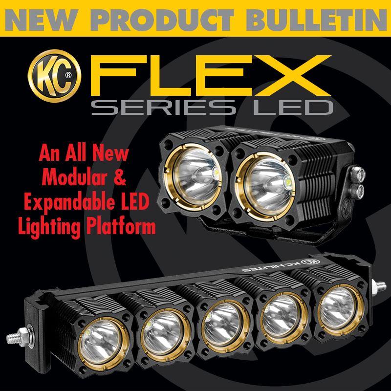 KC HiLiTES Flex Series LED Lights