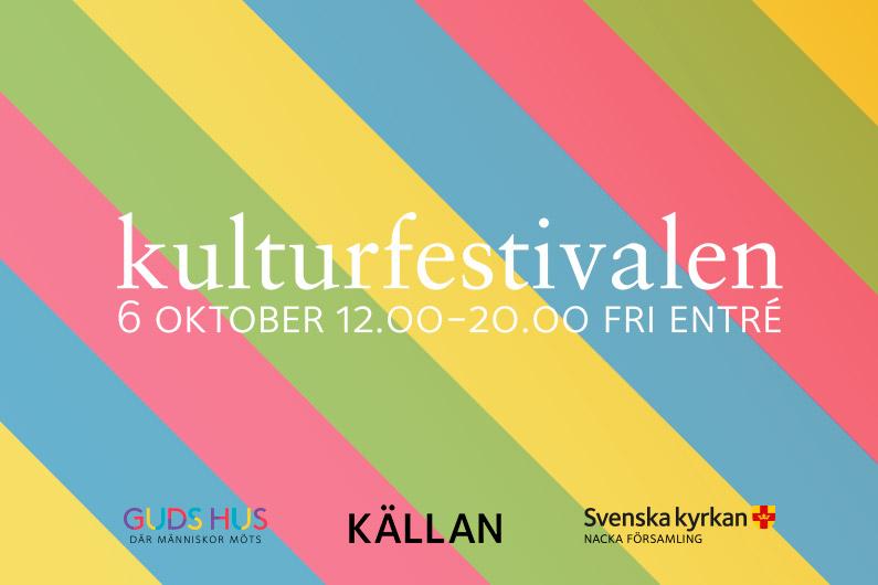 Kulturfestival lördag 6 oktober