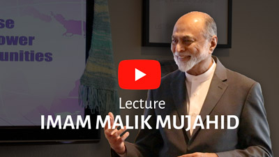 Lecture by Imam Dr Malik Mujahid.