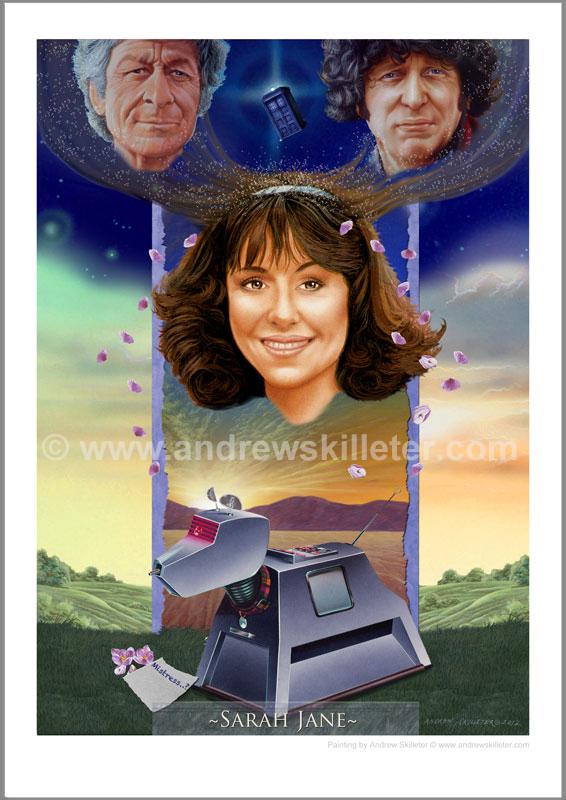 Sarah Jane Charity Print