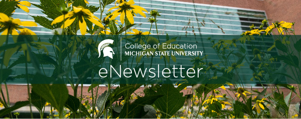 Email header image with college logo.