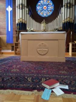 Gift at Altar