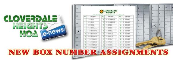Cloverdale Heights eNews Alert