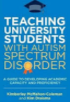 "Book cover ""Teaching Uni Students with Autism"""