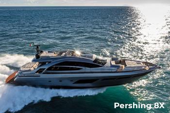 Pershing 8X