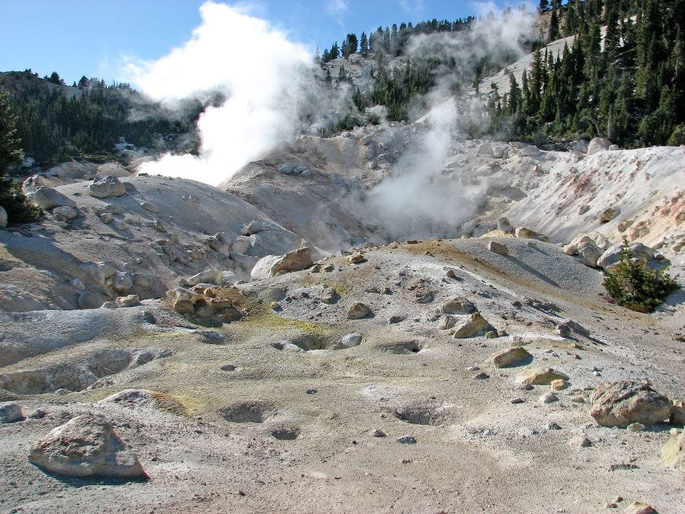 Geothermal springs, Lassen Volcanic National Park
