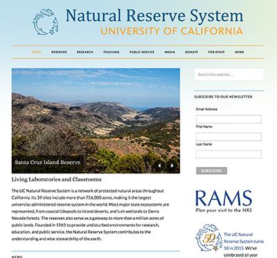 NRS homepage