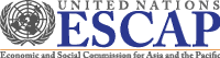 Logo of the United Nations Economic and Social Commission for Asia and the Pacific