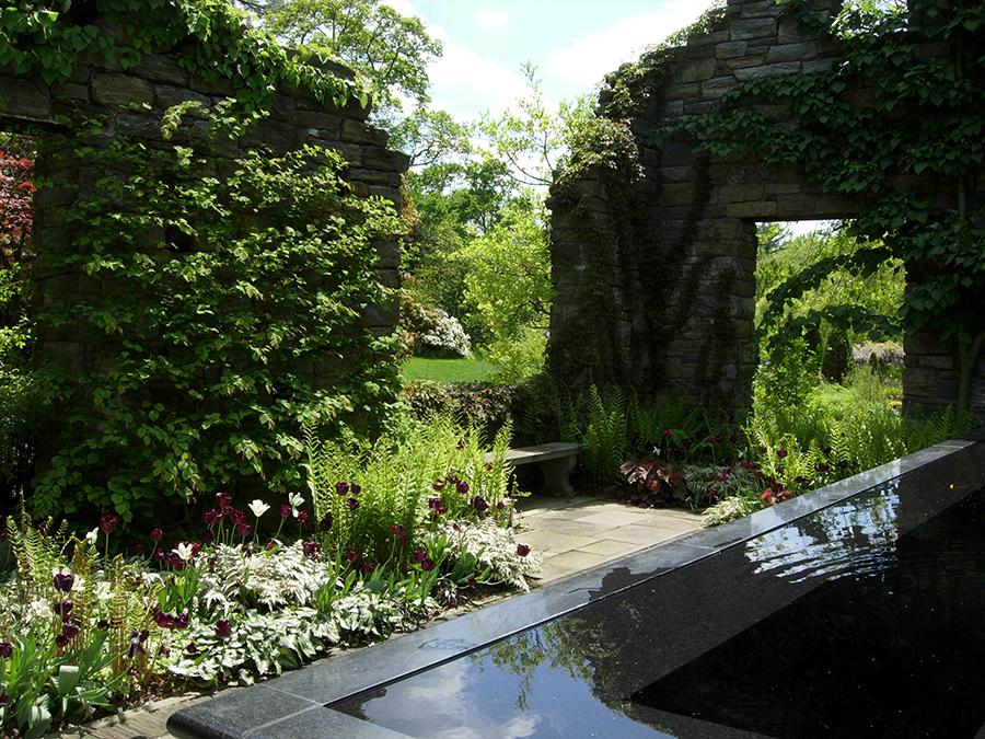 Chanticleer Ruins Garden
