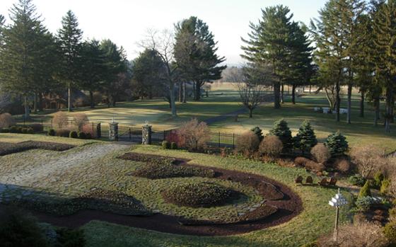 Skytop Garden in Winter