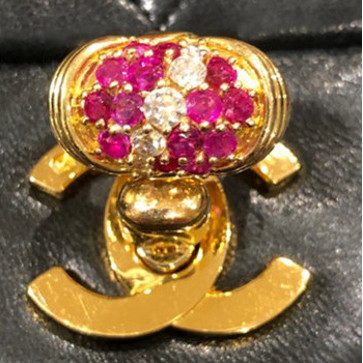 Kutchinsky Ruby & Diamond Ring