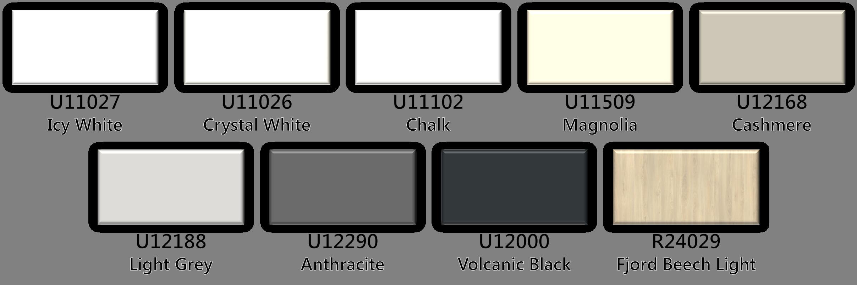 Primeboard Colours