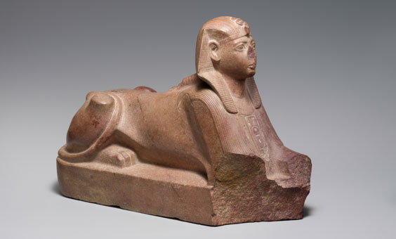 Sphinx of Thutmose lll, Egypt, 15th century BCE