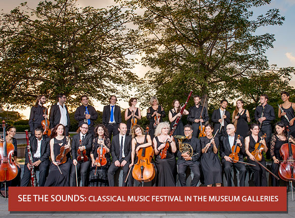 See the Sounds: Classical Music Festival in the Museum Galleries