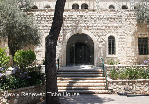 Newly re-opened Ticho House