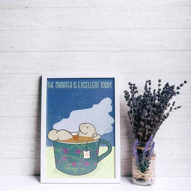manatea lamentino illustration tostoini