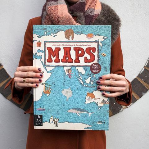 Mappe diAleksandra Mizielińska eDaniel Mizieliński