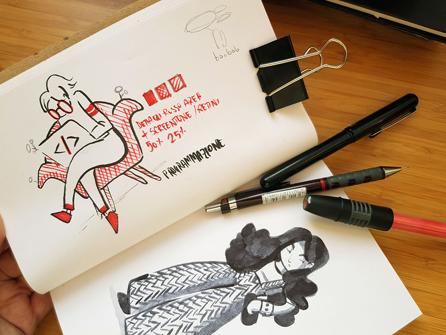 editorial illustration for apogeo