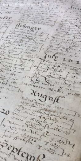 Great Yarmouth parish register 1558 to 1653