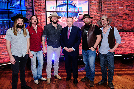 Scooeter Brown Band with Gov Huckabee