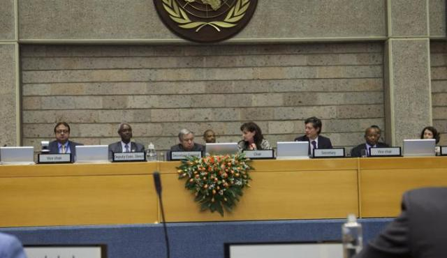 UN Secretary General in Nairobi