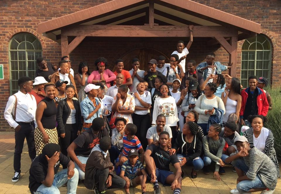 St. Martin de Porres Youth in Soweto Pedge Laudato Si' Action