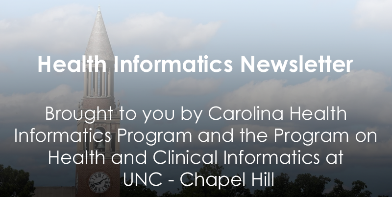 Health Informatics Newsletter