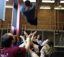 Circus Space students devise Happy Families