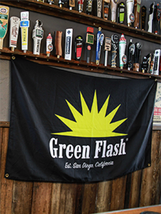 Green Flash Brewing Co. flag